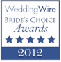 Wedding Wire Brides Choice Award-2012 - traveling makeup artists